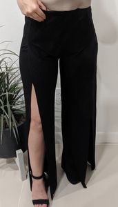 NEW Wide Leg Pants with Slits